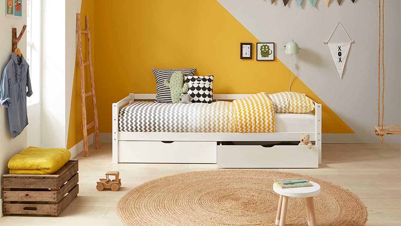 Woodworld - sofabed Bobbie met opbergladen