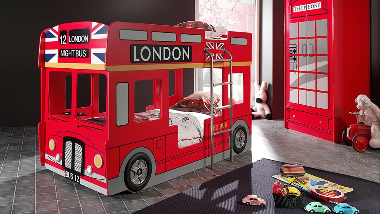 Vipack - stapelbed London bus